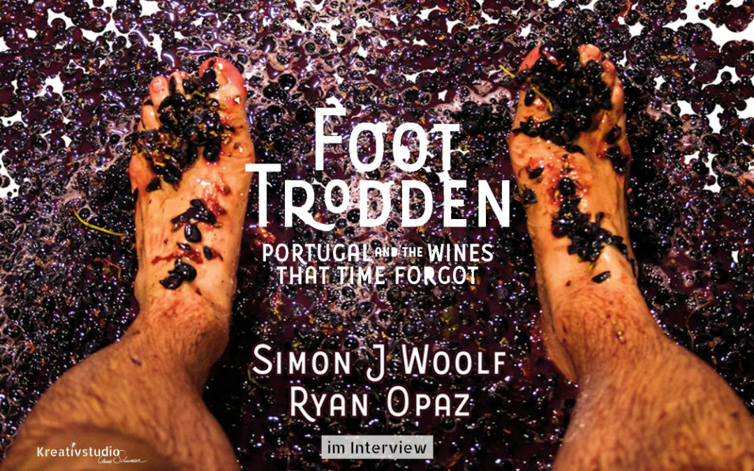 Foot Trodden: Interview mit Bestseller Autor Simon J Woolf und Portugal Experte Ryan Opaz