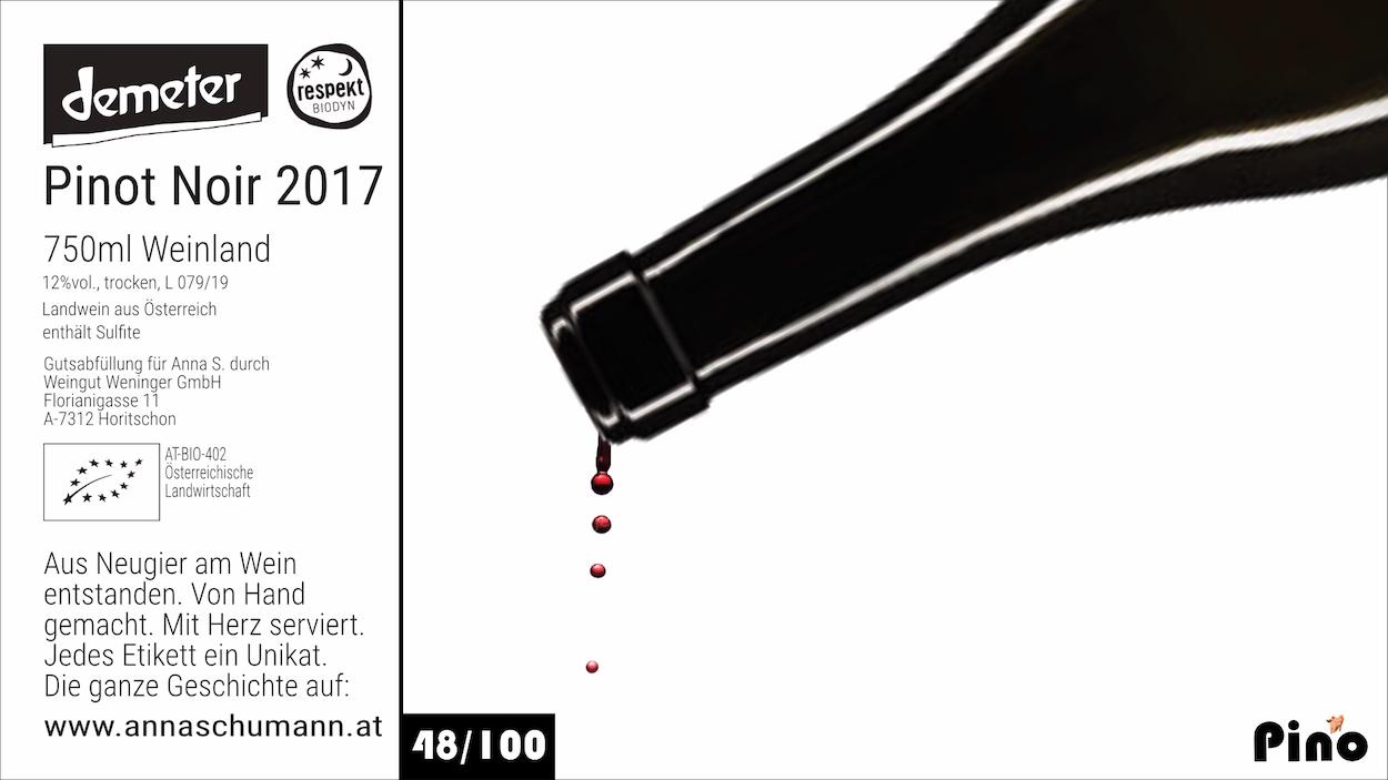 Etikett 48 von 100 PINO